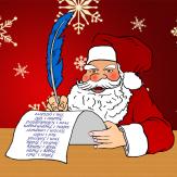 Weihnachtsmann – Wunschzettel