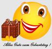 Smiley – Alles Gute zum Geburtstag