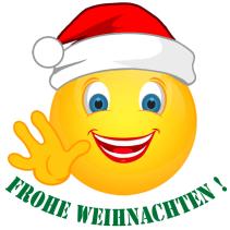Smiley – Frohe Weihnachten