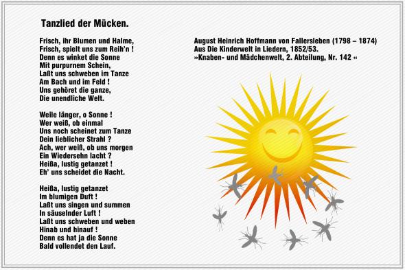 Tanzlied der Muecken – Hoffmann von Fallersleben